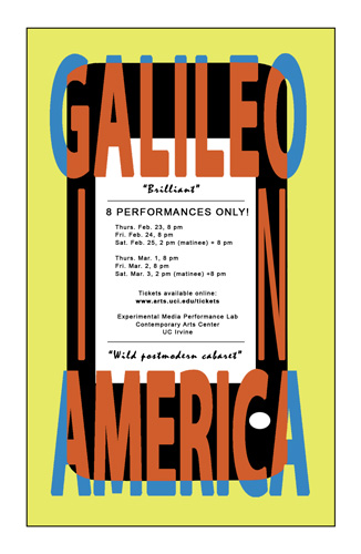 Galileo in America  poster