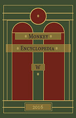 Monkey Encyclopedia W book cover